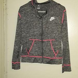 Nike Dri-fit jacket.
